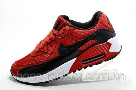 Кроссовки унисекс в стиле Nike Air Max 90, Red\Красные, фото 2