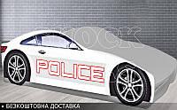 Кровать машина Полиция Бренд от 1400х700, фото 1