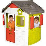 Будиночок лісничого Smoby Toys Нєо зі ставнями (810500), фото 3