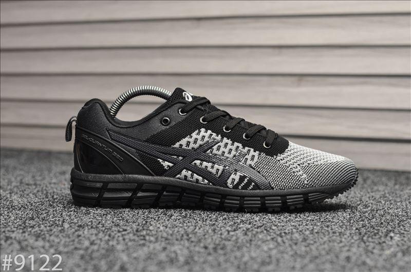 Кроссовки мужские Asics Gel Quantum Black Gray. Стильные мужские кроссовки.