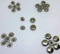 Кнопка Альфа 10.5 мм никель (в упаковке 720 штук)