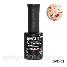 "Гель-лак с блестками beauty choice professional ""Shimmer"" GVD-02"