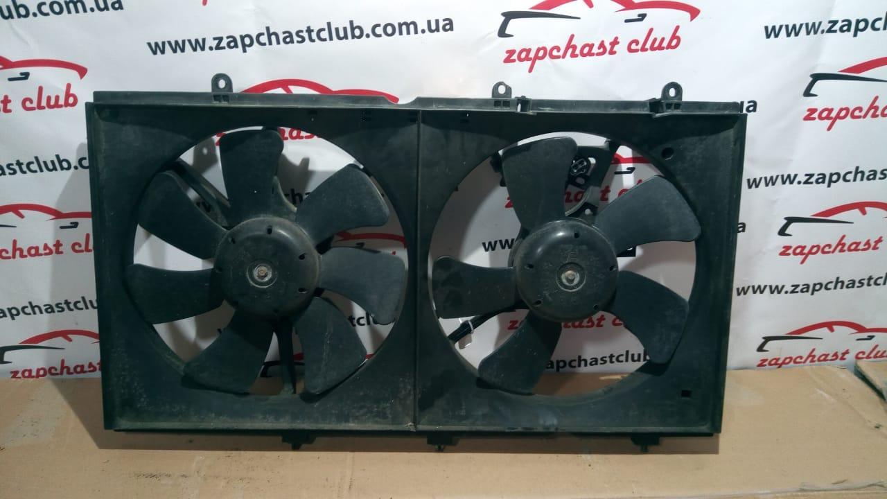 Диффузор радиатора MR968365, в сборе с вентиляторами MR312898, MR312899 (89190485) Lancer 9 Mitsubishi
