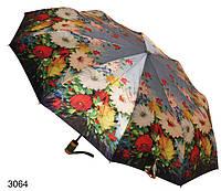 Зонт женский автомат с цветами, фото 1