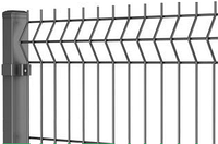 Ограждения ЗАГРАДА ЭКО оцинкованные 200х50мм 3,00мм/4,00мм 1.70м/2,50м, фото 1