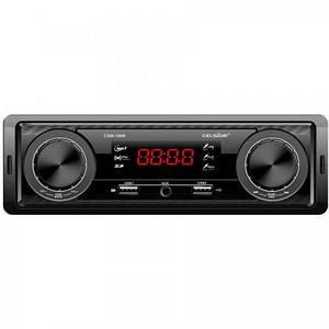 Бездисковий MP3/SD/USB/FM програвач Celsior CSW-186R