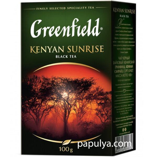Чай черный рассыпной Greenfield Kenyan Sunrise 100 г