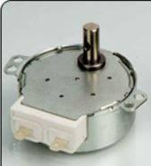 Двигатель (мотор) СВЧ печи для микроволновой печи MT-220 железный вал . длина 15мм