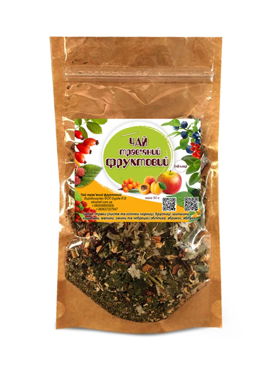 Чай трав'яний з фруктами 50 гр