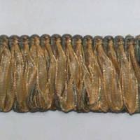 Бахрома имеджен петля, оливка-золото