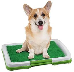 Туалет для собак и кошек Травка Puppy Potty Pad Лоток для собак