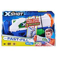 Водяний бластер-пістолет Zuru X-Shot Water Warfare Fast Fill Water Blaster, фото 1