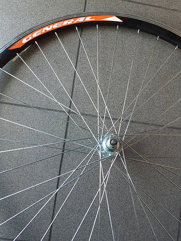 Колесо переднее 28 дюймов двойной обод (втулка метал)на обычном подшипнике, фото 2