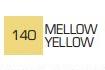 Маркер ZIG 140 Kurecolor Fine & Brush for Manga (2 пера: кисть+т.п)Mellow Yellow (Мягкий жёлтый