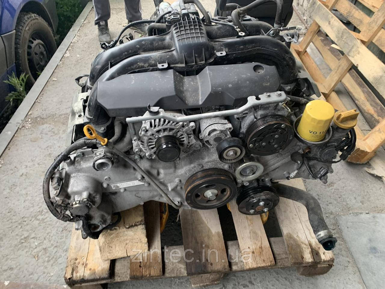 Двигатель Subaru Forester 2.5 USA 2017 год