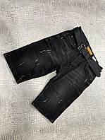 Мужские джинсовые бриджи Rocky D9638 черные