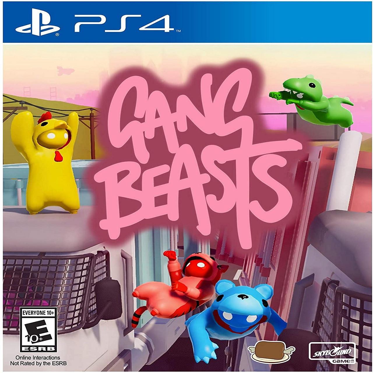 Gang Beasts (англійська версія) PS4