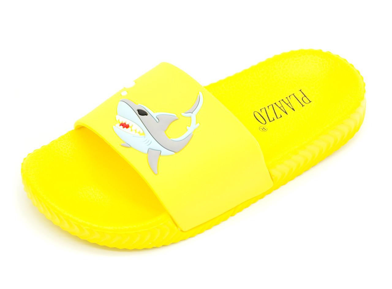 Шлепанцы Унисекс Желтый Размеры: 31,33