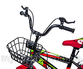 """Велосипед 16 """"SHENGDA"""" Green T12, Ручной и Дисковый Тормоз, фото 3"""