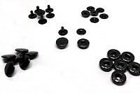 Кнопка Альфа 12.5 мм оксид (в упаковке 720 штук)