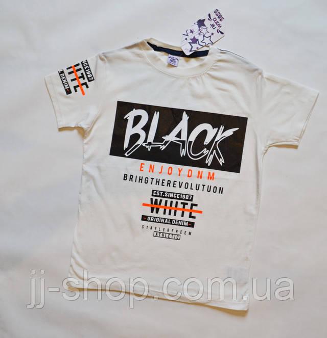 Детские подоростковые футболки для мальчиков