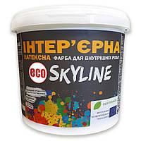 Краска ИНТЕРЬЕРНАЯ Латексная для стен, потолков, дверей ECO SkyLine 10л