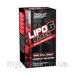 Nutrex Жиросжигатель Липо 6 блек Lipo 6 black Ultra Concentrate (30 black-caps)