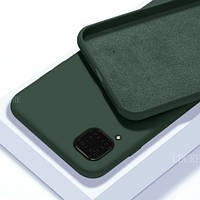 Чехол Silicon Case для Huawei P40 Lite Green (хуавей п40 лайт зеленый)