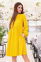 Женское платье воздушное нежное в расцветках (Норма)