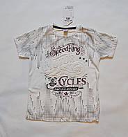 Детские футболки для мальчиков 140-158 размеры белого цвета