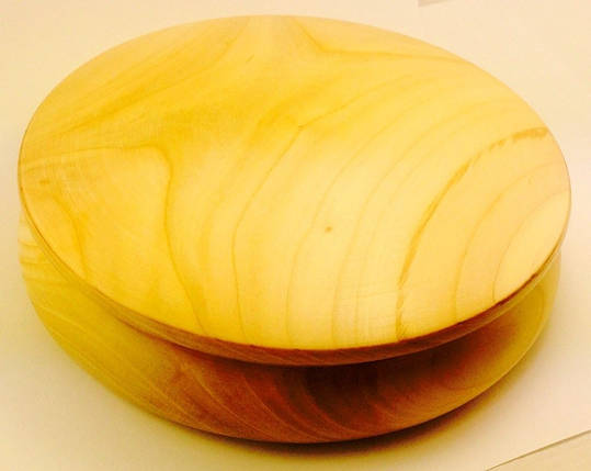 Рахва. Круглая шкатулка под роспись. 15см, фото 2