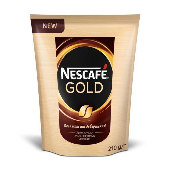 Кофе растворимый NESCAFE Gold 210 г