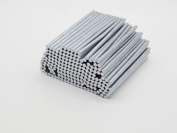 Магнитные заготовки неодимовые. 5х3мм, фото 2