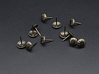 Кнопка металлические декоративные. 11х16мм