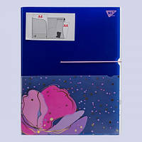Папка-органайзер YES на резинке А4 Viola, 3 отд 491745