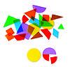 Танграм с прозрачными фигурами (408 элементов) Learning Resources, фото 2