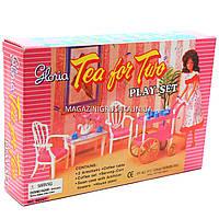 Детская игрушечная мебель Глория Gloria для кукол Барби для чаепития (96007)