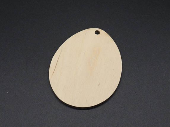 Деревянные заготовки из фанеры.Подвеска Пасхальное яйцо. 5,5х7см, фото 2