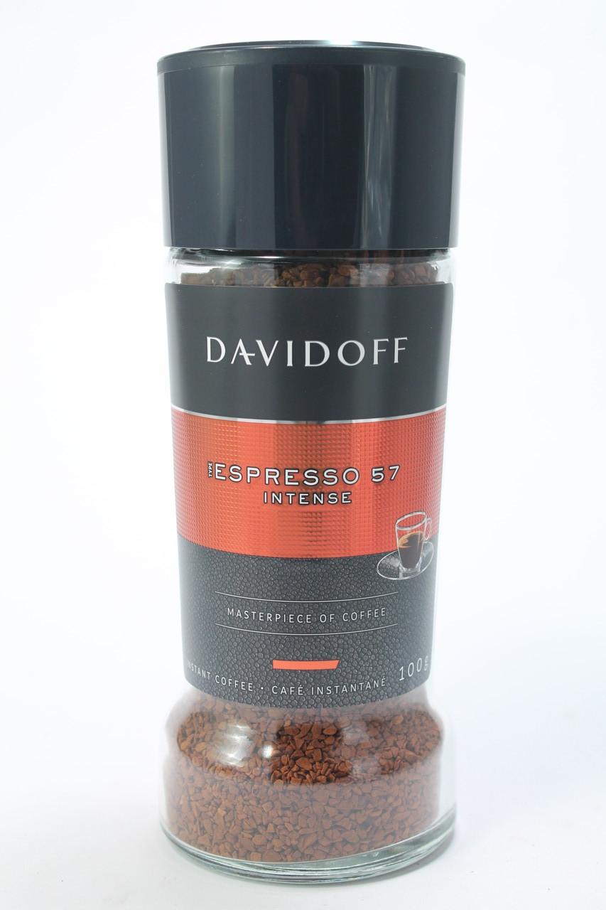 Кофе растворимый Davidoff Espresso 100г в стеклянной банке Швейцария