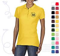 Женская поло SoftStyle под нанесение логотипа, фото 1