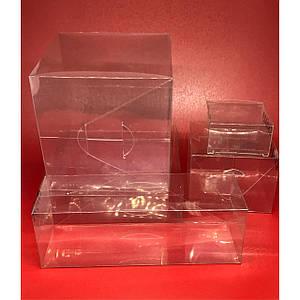 Збірні коробки з полімерної плівки. 10х10х3см.200мкр