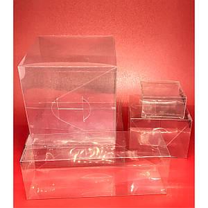 Коробка висічка з полімерної плівки. 20х15х7см.200мкр