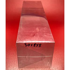 Прозорі пластикові упаковки. 30х8х8см.200мкр