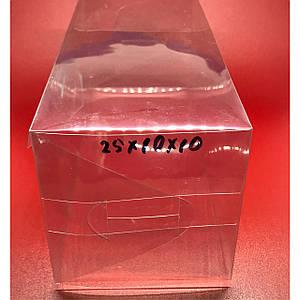 Коробка висічка з полімерної плівки. 25х10х10см.200мкр