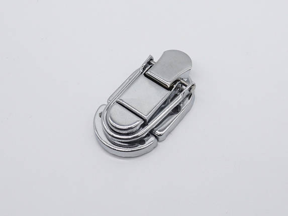 Засувка для куфров. Колір срібло. 68х35мм, фото 2