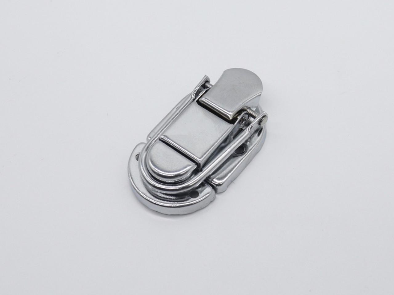 Засувка для куфров. Колір срібло. 68х35мм