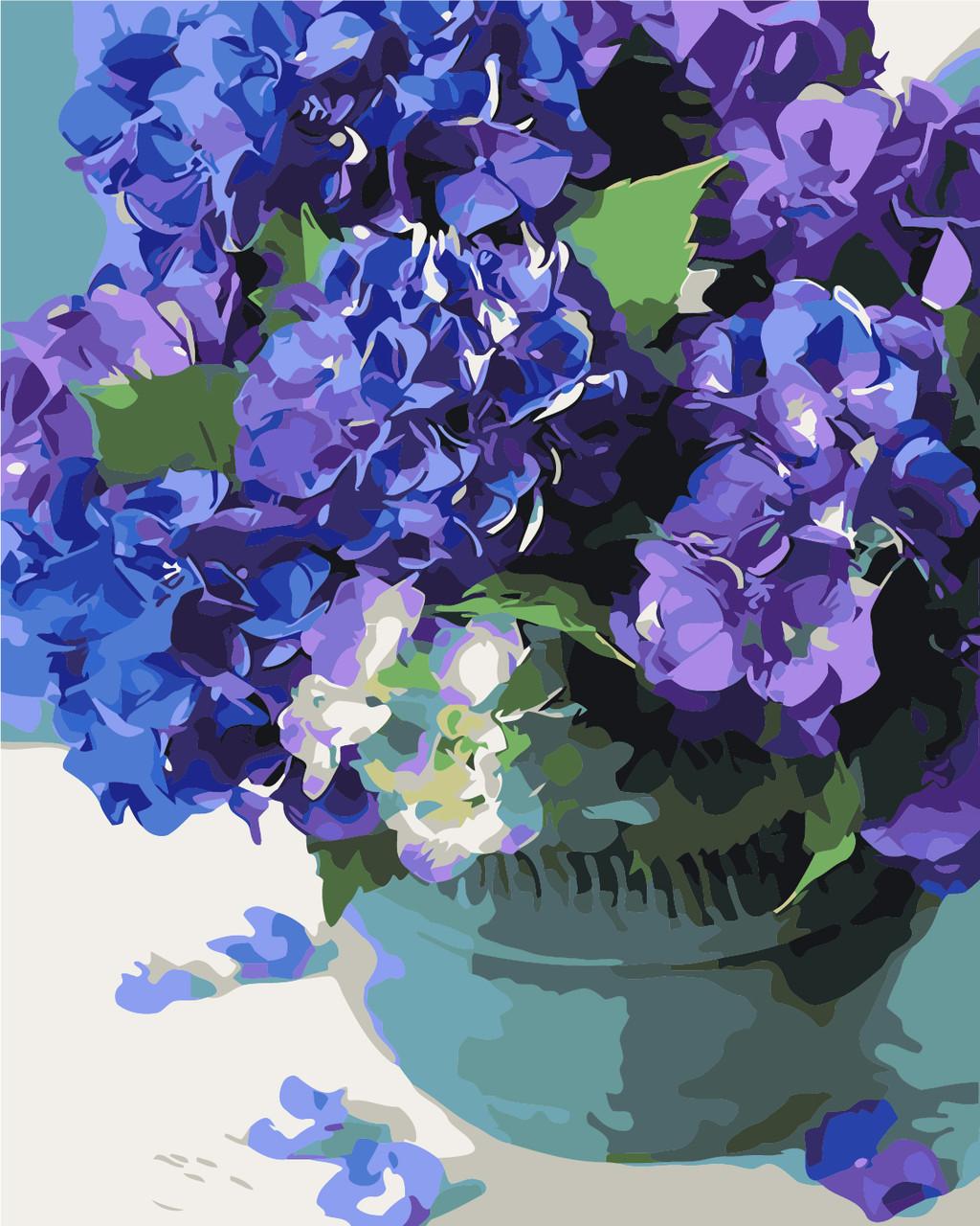 Картина по номерам Нежная гортензия, 40x50 см Art Story