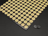 Двухсторонняя липкая крепежная лента 2мм толщина. Цвет черный. 20мм. 143шт/аркуш