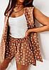 """Летний женский костюм """"BALAGNE"""" с шортами и жилетом (3 цвета), фото 2"""