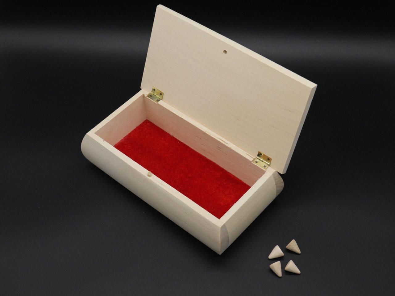 Скринька для декупажу, розпису 21х11х7см. + фурнітура.